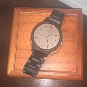 Jord Watch (Frankie Ebony and Gold)